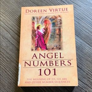 Angel numbers 101 book by Doreen Virtue